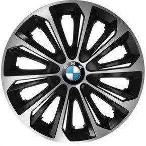 """Wieldoppen BMW 15"""", STRONG DUOCOLOR 4 stuks"""