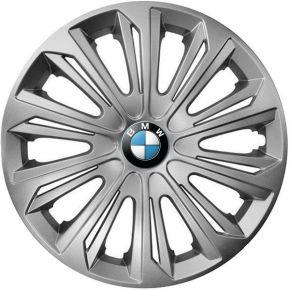 """Wieldoppen BMW 16"""", STRONG grijs 4 stuks"""