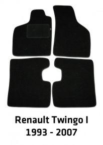 Velours automatten, Renault Twingo I, 1993-2007