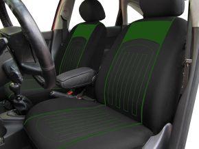 Autostoelhoezen op maat met stikselpatroon PEUGEOT 107